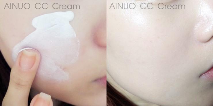 CC cream ซีซีครีม ผิวเนียน ผิวขาวใส