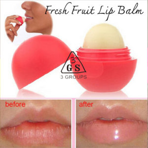 3GROUPS FRESH FRUIT LIP BALM
