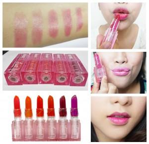 leezi lip color ลิปเปลี่ยนสี ลิปปากชมพู
